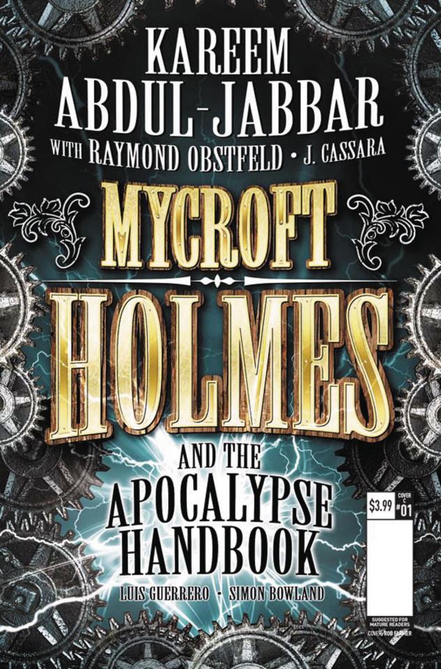 Mycroft Holmes #1 (Novel Cover)