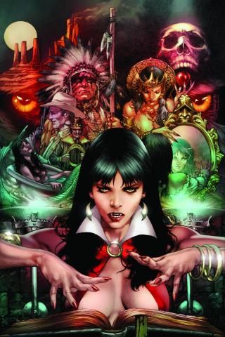 Vampirella: Feary Tales #2 (Anacleto Virgin Cover)