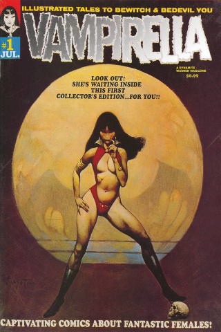 Vampirella #1 (1969 Replica Cover)