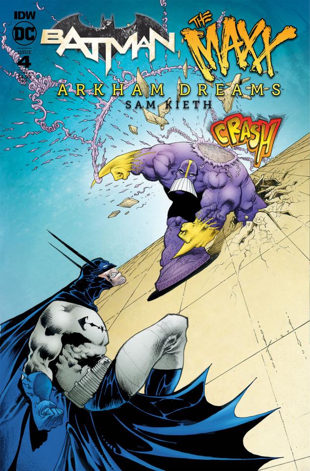 Batman / The Maxx: Arkham Dreams #4 (Kieth Cover)