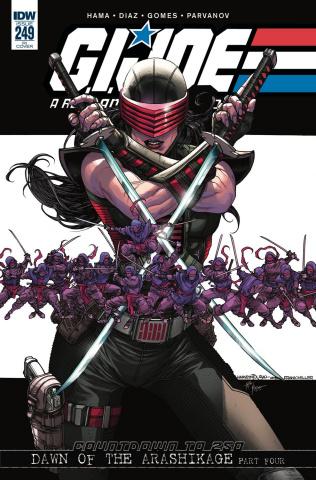 G.I. Joe: A Real American Hero #249 (10 Copy Cover)