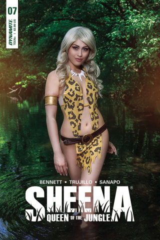 Sheena #7 (Cosplay Cover)