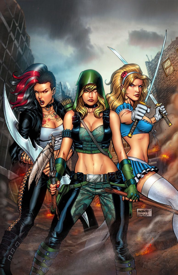 Grimm Fairy Tales: Apocalypse #5 (Goh Cover)