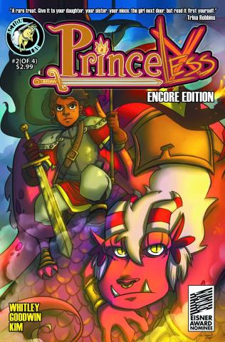 Princeless #2 (Encore Edition)