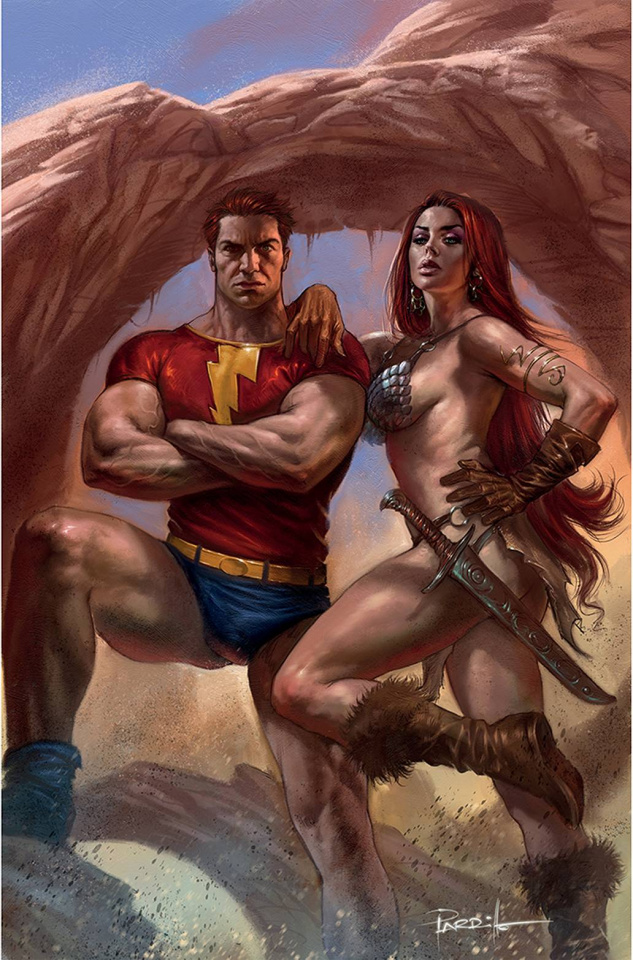 Red Sonja: The Superpowers #3 (Parrillo Virgin Cover)