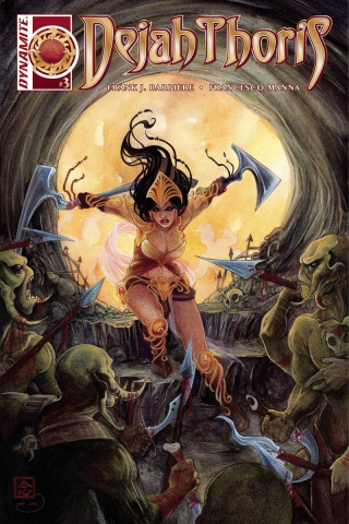 Dejah Thoris #3 (Nen Cover)