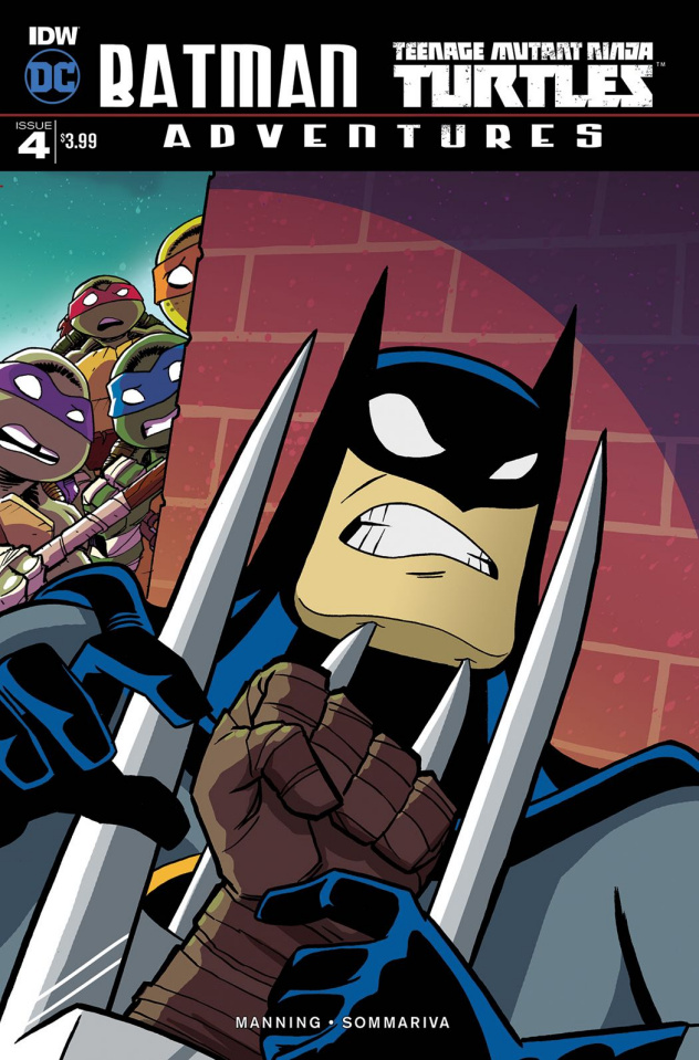 Batman / Teenage Mutant Ninja Turtles Adventures #4 (10 Copy Cover)