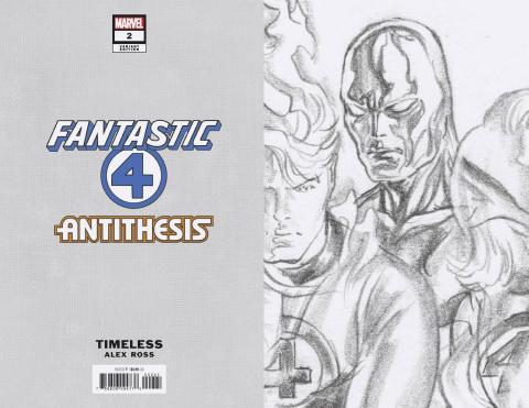 Fantastic Four: Antithesis #2 (Timeless Virgin Sketch Cover)