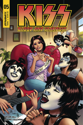 KISS: Blood and Stardust #5 (Sanapo Cover)