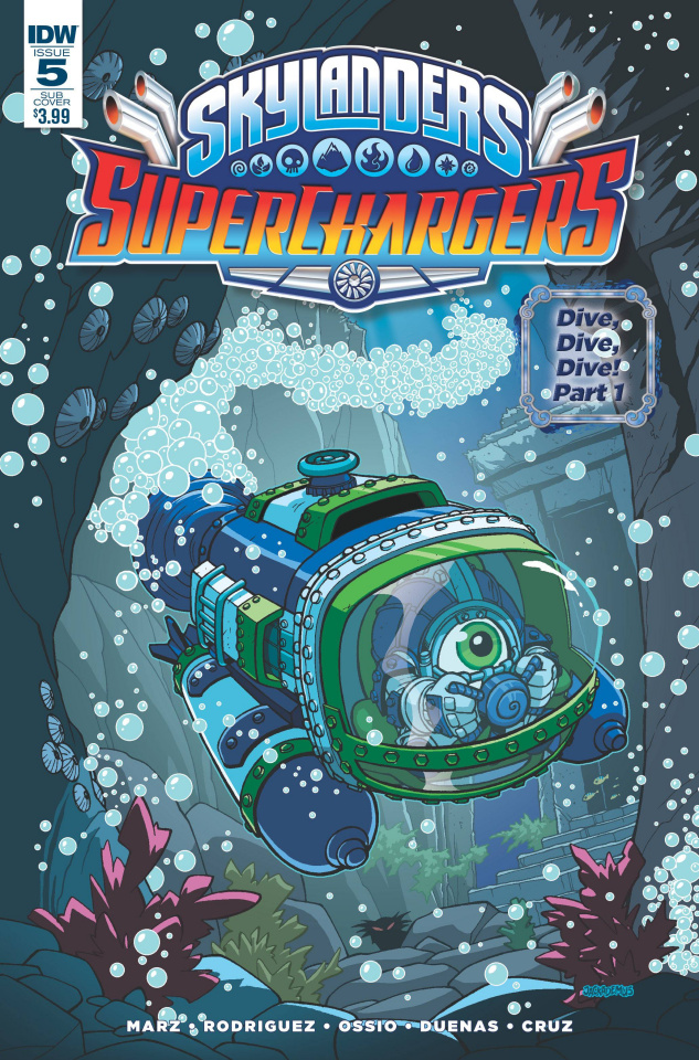 Skylanders: Superchargers #5 (Subscription Cover)
