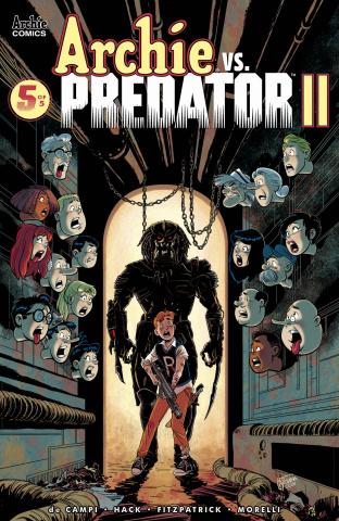 Archie vs. Predator II #5 (McClaine Cover)