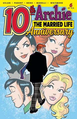 Archie: The Married Life - 10 Years Later #6 (Parent Cover)