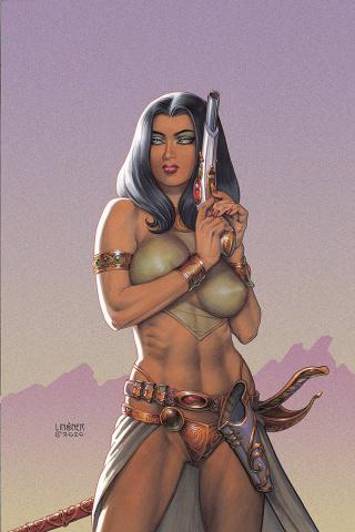 Dejah Thoris #10 (Linsner Virgin Cover)