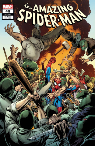 The Amazing Spider-Man #48 (Bagley Cover)