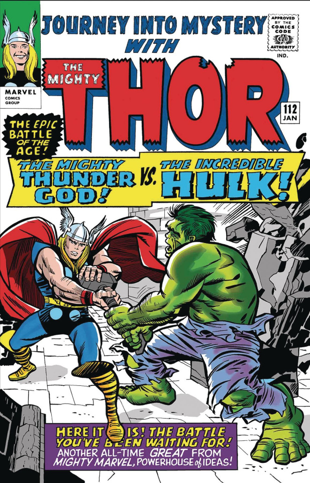 Thor vs. Hulk #1 (True Believers Kirby Cover)