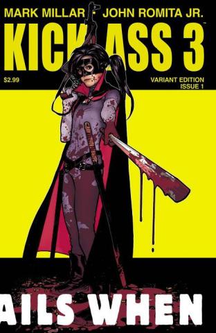 Kick-Ass 3 #1 (Hughes Cover)