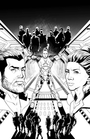 The Expanse #4 (25 Copy Sliney Cover)
