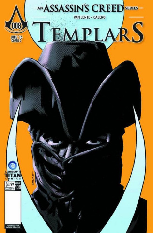 Assassin's Creed: Templars #8 (Fuso Cover)