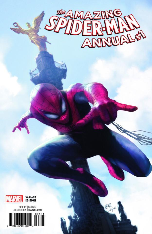 The Amazing Spider-Man Annual #1 (Valdes Televisa Cover)