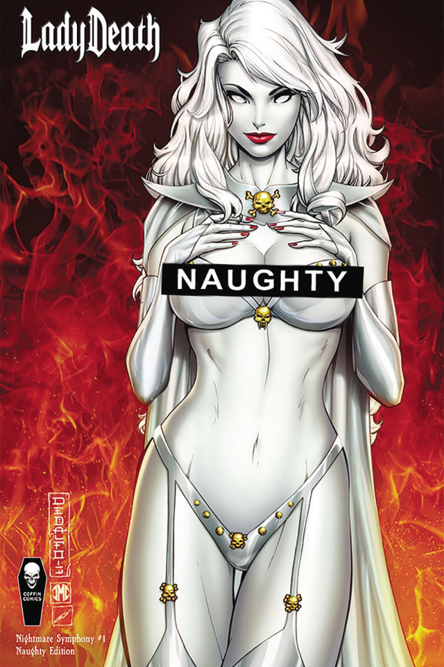 Lady Death: Nightmare Symphony #1 (Naughty Cover)