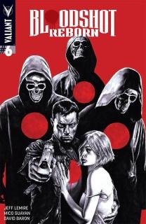 Bloodshot: Reborn #6 (Suayan Cover)