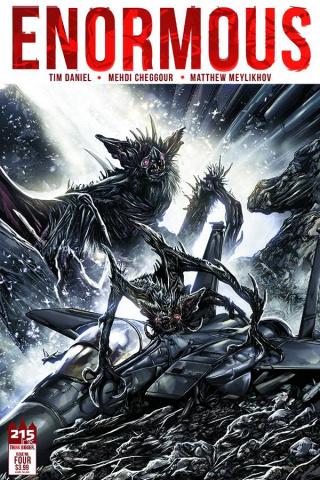 Enormous #4 (Cheggour Cover)