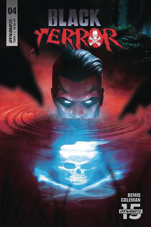 Black Terror #4 (Rahzzah Cover)