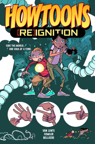 Howtoons: [Re]ignition Vol. 1