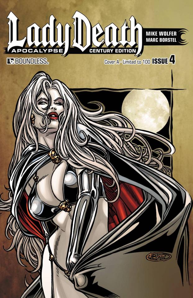 Lady Death: Apocalypse #4 (Century Set)