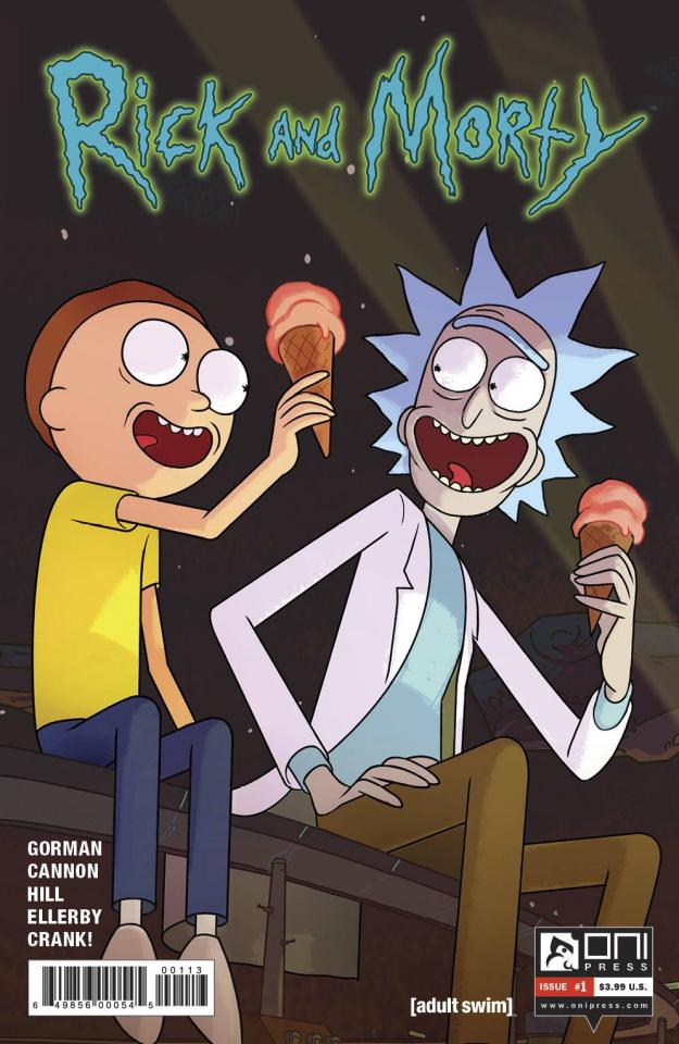 Rick and Morty #1 (3rd Printing)