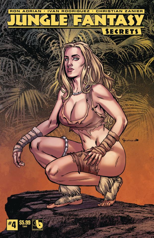 Jungle Fantasy: Secrets #4 (Lani Cover)