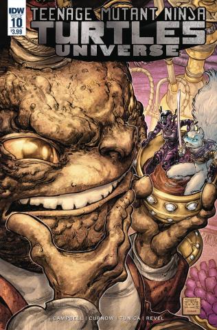 Teenage Mutant Ninja Turtles Universe #10