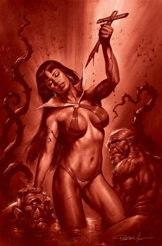 Vampirella #18 (21 Copy Parrillo Tint Virgin Cover)
