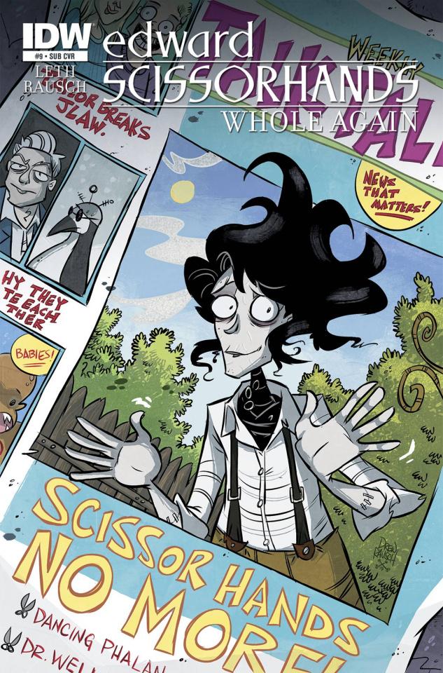 Edward Scissorhands #9 (Subscription Cover)