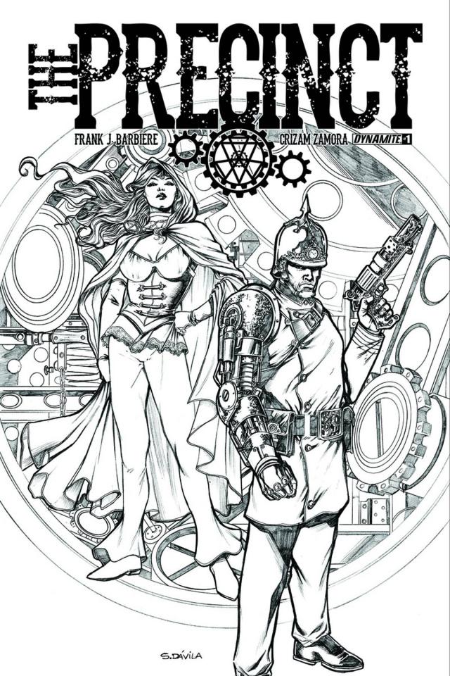 The Precinct #2 (10 Copy Davila B&W Cover)