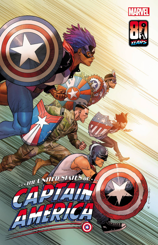 The United States of Captain America #5 (Yu Cover)