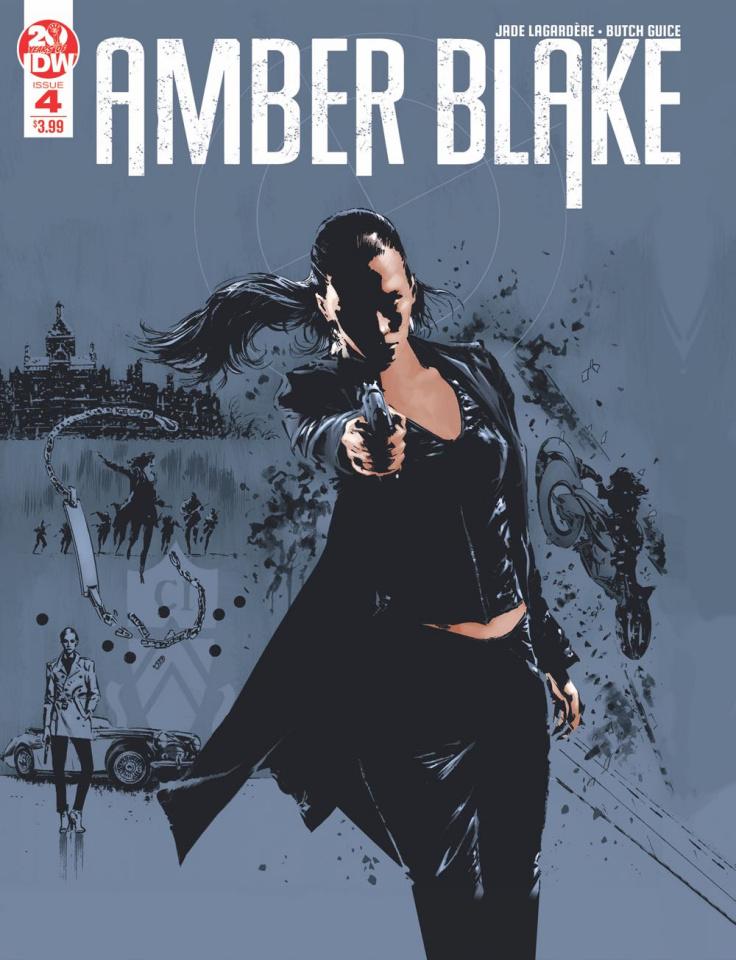 Amber Blake #4 (2nd Printing)