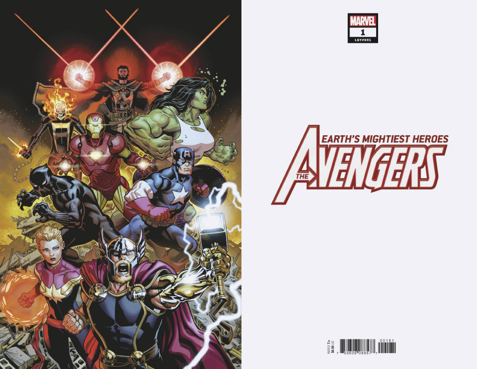 Avengers #1 (McGuinness Virgin Cover)