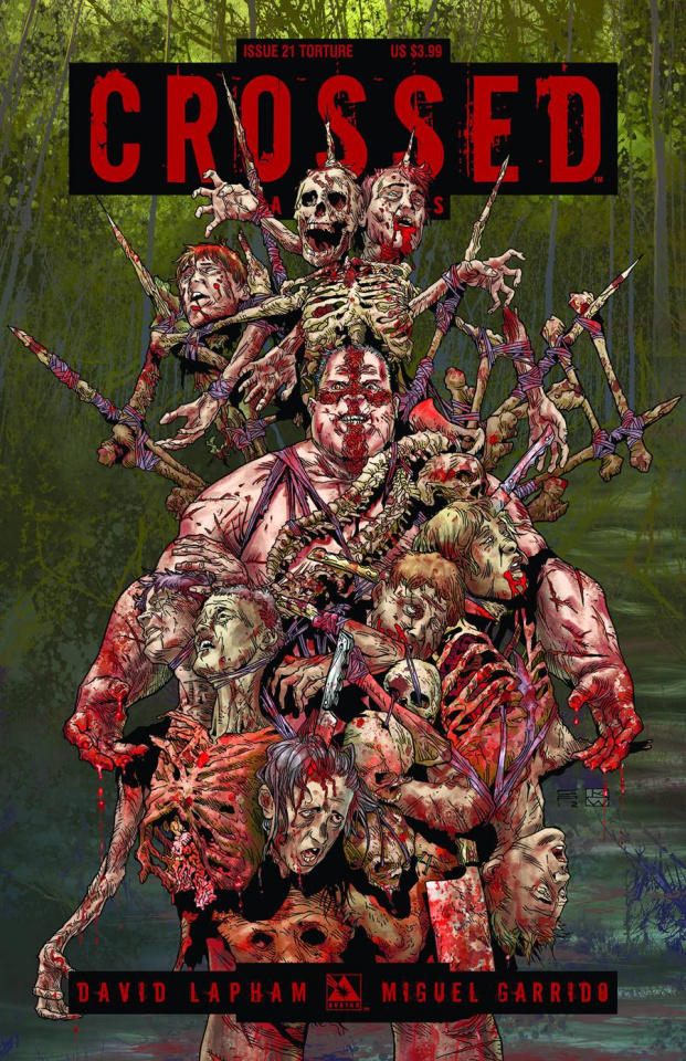 Crossed: Badlands #21 (Torture Cover)