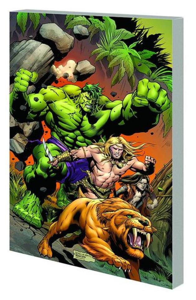 The Incredible Hulks: Planet Savage