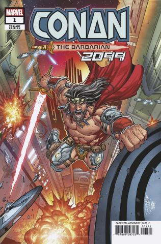 Conan 2099 #1 (Ron Lim Cover)