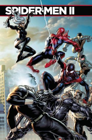 Spider-Men II #5 (Saiz Connecting Cover)