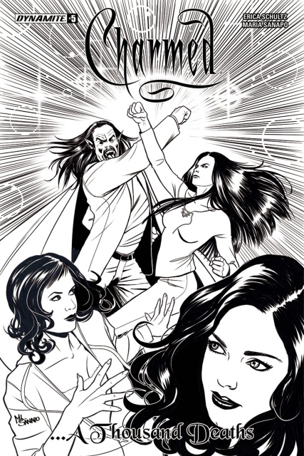 Charmed #5 (10 Copy Sanapo B&W Cover)