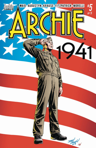 Archie: 1941 #5 (Ordway Cover)
