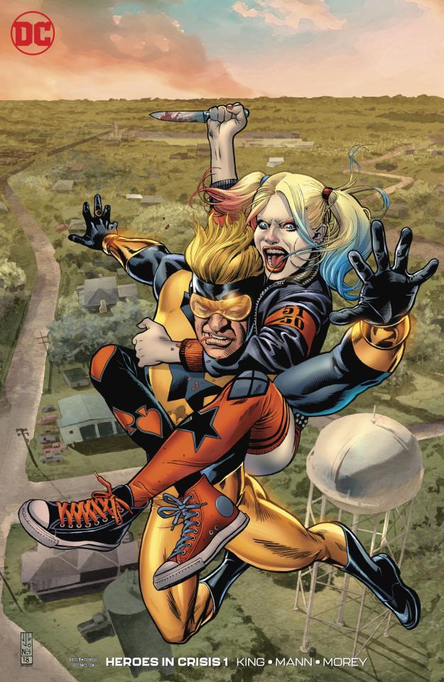 Heroes in Crisis #1 (1 in 50 Jones Cover)