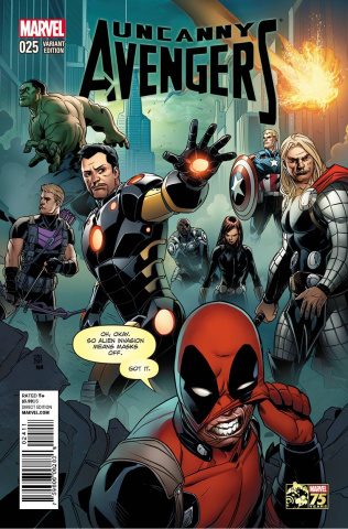 Uncanny Avengers #25 (Deadpool Cover)