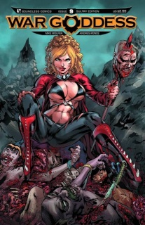 War Goddess #9 (Sultry Cover)