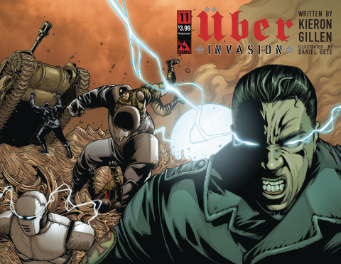 Über: Invasion #11 (Wrap Cover)