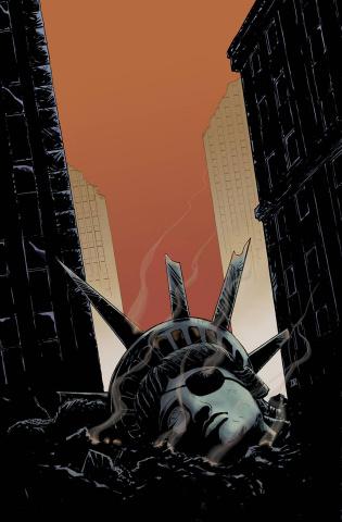 Escape From New York #12 (20 Copy Moustafa Cover)