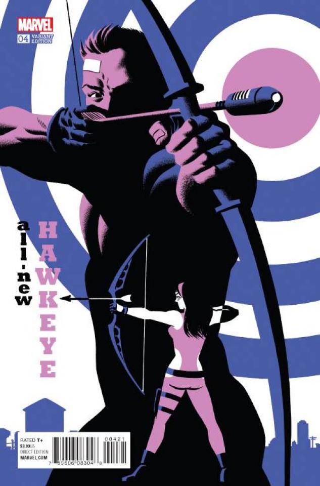All-New Hawkeye #4 (Cho Cover)